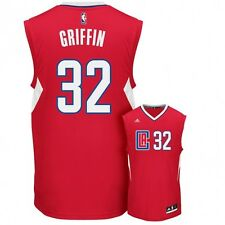 Maillot NBA Blake griffin Los Angeles Clippers Rouge adidas replica 2016