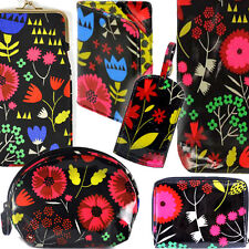 FLORAL MIX ACCESSORY / Glasses Case Luggage Tag Passport Purse Makeup Wash Bag