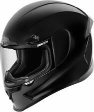 Icon Airframe Pro Solid Gloss Black Full Face Motorcycle Bike Helmet | All Sizes