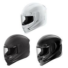 Icon Airframe Pro Plain Solid Colours - Full Face Motorcycle Helmet | All Sizes