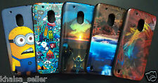 Printed Silicon Cover For Motorola Moto G4 4th Gen Back Case Cover