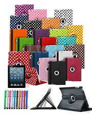 """Apple iPad Air 3 (9.7"""") 2016 Tablet - Case Cover with 360 Rotating & Stylus Pen"""