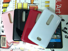 buy2./ Shiny Silicon Soft Back Cover Case For Nokia Asha 501