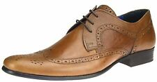 Red Tape Louth Marrón Tostado Zapatos Oxford Con Cordones Hombre Formal