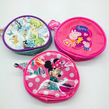 DISNEY COIN PURSE TINKERBELL  PEPPA PIG  MINNIE MOUSE GIFT KEEP CHANGE SAFE