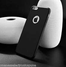 Soft Rubber Silicone Black Color Slim Back Cover for iPhone 5S 6 6S HIGH QUALITY