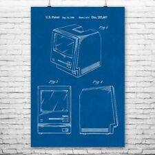 Original Apple Macintosh Computer Poster Art Print Apple Poster Apple Wall Art