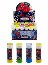 Spiderman bubbles, bubble tub with maze, party bag fillers, multiples of 6