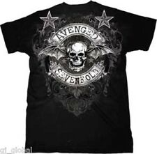 Licensed Avenged Sevenfold A7X Stars Flourish T-Shirt Tshirt Tee Shirt
