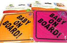 BRAND NEW BABY ON BOARD CAR SIGN BABY CHILD KIDS TODDLERS  SAFETY CAR  WARNING