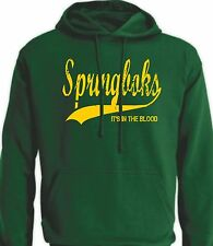 Springboks Sud Africa It's in il sangue Stile Retro Maglie Rugby