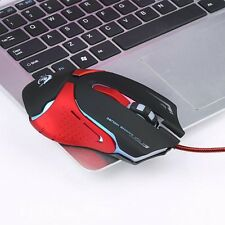 3200 DPI 6D LED Optical USB Pro Gaming Wired Mouse Per il Computer Portatile
