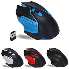2.4GHz 6Tasti Mouse 3200DPI Wireless Optical Gaming Mouse Per Computer Laptop