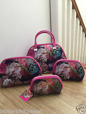 Ted Baker Pink Beauty wash Bag cosmetic travel bag large small floral New