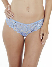 Clearance.....Lepel Fiore 93212 Blue Cream Thong Size 18