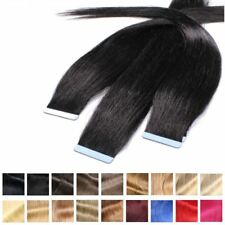 EXTENSION BIADESIVE CAPELLI VERI REMY 40cm 50cm 60cm Hair Extensions