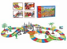 Children Kids Car Flexible Variable Track Set 154/257 Car Racing Game Battery