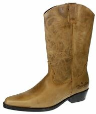 Wrangler Tex Hi Pour Hommes Brun À Enfiler Chelsea, Bottine Cow-boy Weston Cuir