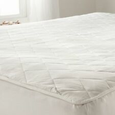 Luxury Quilted Poly Cotton Waterproof Mattress Bed Protector Cover Sheet Fitted