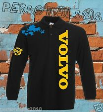 VOLVO POLO chemise LONG MANCHE truck camion LKV TIR holland style vertical logo