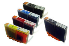 5 HP 364XL (Black, Cyan, Magenta, Yellow & Photo  Black) Inks for Photosmart