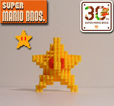 SUPER MARIO BROS. - 3D Star (Perler Bead Figure)