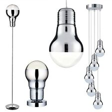 design chrome verre lampe de table suspendue lustre lampadaire luminaires