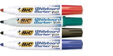 Bic Velleda Whiteboard Dry Wipe Marker Bullet Tip School Office Presentation