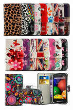 LG G5 H850 - Colourful Printed Pattern Card Slot Wallet Case Cover