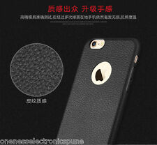 Luxury Ultra Thin TPU Leather Feel Soft Case for Apple iPhone 5/5S & 6/6S(4.7)
