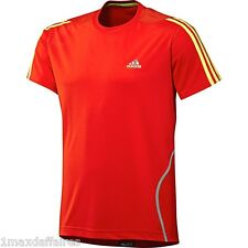 Maillot ADIDAS Response DS S/S HOMME Taille M XL Neuf Sport Running Course