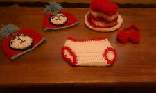 dr seuss cat in the hat thing 1 & 2 hat top hat set the grinch photo props