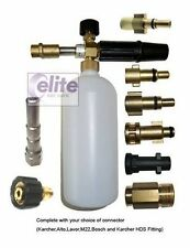 Elite Professional Snow Foam Lance with a FREE Litre of Snow Foam (9 fittings)