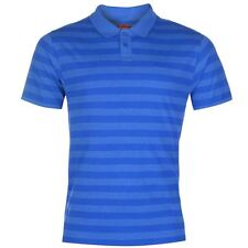 Lee Cooper Mens Yarn Dye Polo Shirt Blue New With Tags