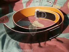 Cintura, cinturone tedesco, German Heer leather belt fibbia buckle WW2 TOP