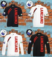 POLO LANCIANO football sport court longue manche football made in italy