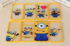 Despicable Me 3D Minions Moving Eyes Rolling Eyes Case Cover Silicone for iPhone