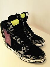 Nike Liberty Dunk Sky Hi Sky high OG QS Black Volt Lotus Jaz LIBERTY OF LONDON