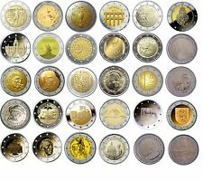 2 Euro commemorative coins 2016 - all coins 1st half of 2016 - UNC/BU quality