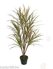 Best Artificial 4ft 120cm DRACAENA Dragon Tree Plant Tropical PALM