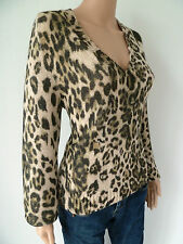 MARCCAIN extravagantes Pullover Gr.N5 (44) kuschlig dick Wolle