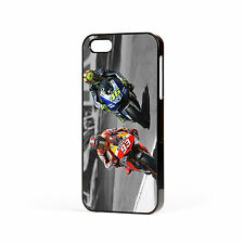 Valentino Rossi Marc Marquez Moto GP Hard Case For Apple iPhone (all models)