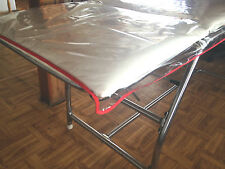 PVC Plastic Crystal Couch Cover For Massage Tables, Beds Therapy Protection