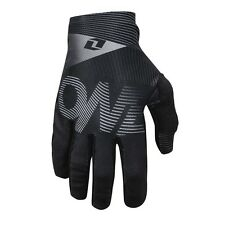 One Industries Vapor Warp Black Gloves 2016 - Mountain Bike Full Finger Cycling