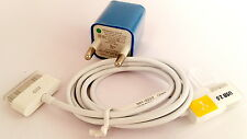 New USB Adapter & USB Cable for Apple iPhone 4S , 4 , 3G , 3 & iPod-Wall Charger