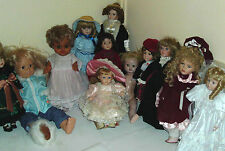 PORCELAIN DOLLS 1960/90 ~ click HERE to browse or order