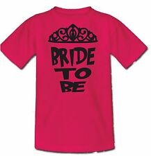 Hen T-shirt, 10 Dares for  the Bride, put a name on the back for FREE.