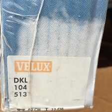 genuine velux siesta blackout blind dkl 104 colour 5131 light blue cango new box. Black Bedroom Furniture Sets. Home Design Ideas
