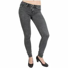 Dr. Denim Damen Jeans Leggings Kissy Grey Stone Gr.M