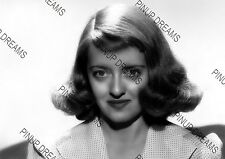 Bette Davis Vintage Hollywood Pin-up Movie Star Photograph re-print